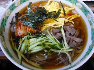 大同苑(浦安)の冷麺 ¥750