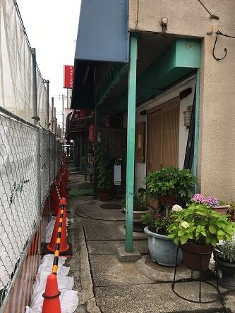 浦安魚市場裏飲食街